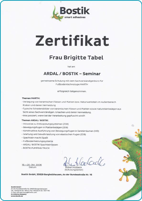 tabema-klebstoffe-dichtstoffe-zertifikat-ardal-bostik-brigitte-tabel