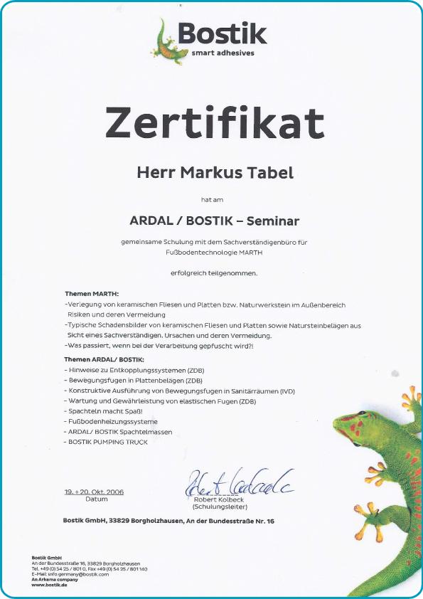 tabema-klebstoffe-dichtstoffe-zertifikat-ardal-bostik-markus-tabel